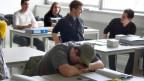Kanti-Schüler am Burggraben in St. Gallen dürfen auch im nächsten Schuljahr länger schlafen.