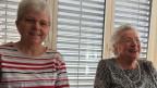 Rosemarie Mutter ist Zeitvorsorgende und unterstützt Susanne Bruderer im Haushalt.