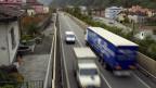 Autobahn durch Roveredo