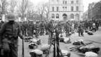In Rorschach erinnern Gewerkschaften an den Generalstreik.
