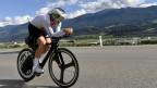 Bissegger auf dem Rennrad