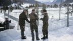 WEF Davos - grosser Aufwand für die Sicherheit
