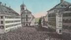 Landsgemeinde in Trogen AR anno 1912