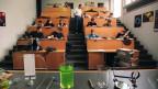 Hörsaal im Zürcher Gymnasium Rämibühl