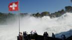 Werden die tosenden Wassermassen des Rheinfalls in Zukunft angezapft?