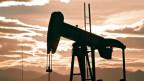 Ein Ölbohrturm in Colorado, USA