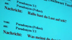Transskript eines Chats