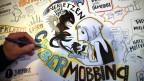 Eine Zeichnung zu Cybermobbing