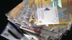 Diverse Noten in Schweizer Franken