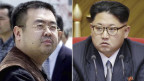 Kim Jong Nam e Kim Jong Un.