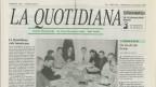 «Ün ris-ch chi fa sen» - l'emprim numer da La Quotidiana dals 6 da schaner 1997