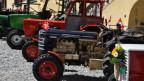 Tractors Hürlimann fan parada a S-chanf