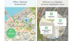 L'app maps.me è adattada per diversas pussaivladads.
