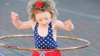 La mattetta ha gia l'inschign per far girar il rintg da hulahop