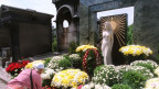 La fossa da Dalida al santeri Montmartre a Paris
