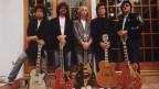 Bob Dylan, Jeff Lynne,Tom Petty, Georeg Harrison e Roy Orbison