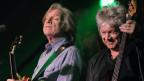 Ils dus Moody Blues Justin Hayward e John Lodge l'onn 2012.