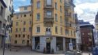 La papeteria e libraria Wega amez il vitg da San Murezzan