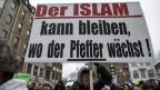 Protest vers l'islam en Germania