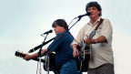 Everly Brothers durant in concert