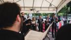 Laschar ir audio «Rezia cantat – RTR e RSI da la Piazza Bertacchi».