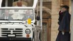 Il «Papamobil» è vegnì construì per Papa Gion Paull II.