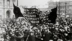 Fotografia istorica da la revoluziun da favrer 1917 en Russia