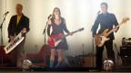 La gruppa tudestga Wir sind Helden durant in concert