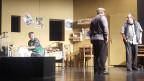 L'uniun da teater Trun durant l'emprova