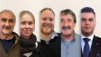 Vitus Dermont, Irina Schmid, Cla Tschenett, Silvio Monn e Silvan Wolf, tuts han gì midadas el 2018.