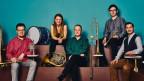 Purtret cun ils musicists da Stockholm Chamber Brass