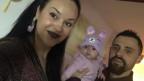 Elbenita Sylaj e sia famiglia