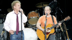 Simon and Garfunkel durant in concert a Basilea 2004.