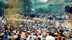 Woodstock-Festival l'onn 1969.