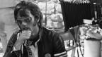Peter Fonda durant la filmada da Easy Rider.