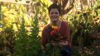Cilgia Koller Mengiardi en ses chantun biodivers, ses curtin.