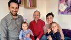 Trais generaziuns da Rumantschs en la Bassa.