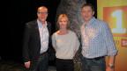 Die Zürcher «Persönlich»-Runde: (v.l.) Gastgeber Daniel Hitzig, Mona Petri und Marc Jansen.