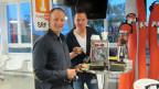Patrizio Frigeri macht im Studio den Frühstückskaffee mit Sven Epiney.
