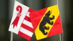 Jura und Berner Wappen.