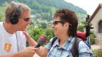 Reto Scherrer im Gespräch mit Bestseller-Autorin Blanca Imboden.
