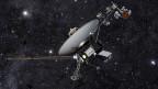 Die «Voyager 1» fliegt mit 60`000 Stundenkilometern durch den Raum.