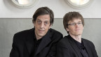 Pedro Lenz und Patrik Neuhaus als Duo «Hohe Stirnen».