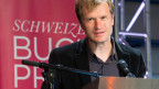 Walter Jens im Theater Basel, wo er den Schweizer Buchpreis 2013 erhielt.