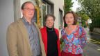 Katharina Kilchenmann (rechts) mit Barbara Stüssi-Lauterburg und Robert Kühnis.