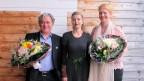 V.l.n.r. Oswin Bättig, Anita Richner und Emma Stirnimann.