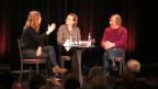 Anna Rossinelli, «Persönlich»-Gastgeberin Katharina Kilchenmann und Claus Theo Gärtner (v.l.n.r.).