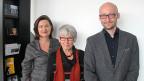 Katharina Kilchenmann mit Aenni Rotzler und Martin Hannes Graf im Frauenfelder «Cinema Luna».