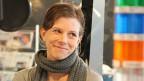 Kerstin Birkeland im Radiostudio