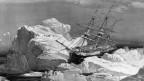 HMS Investigator: ein ähnliches Schiff wie dasjenige von John Franklin, wurde 1850 auch vom Packeis gestoppt.